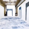 <em>Travis Boyer, Crocking Off the Bloom</em>, 2012<br> Installation view at Participant Inc., New York