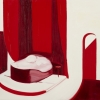 Nicole Wittenberg<br>  <em>Untitled</em>, 2010<br> Oil on canvas<br> 25 x 42 inches